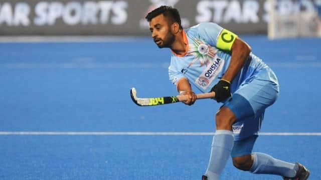 من پریت ٹوکیو اولمپکس کے لئے ہندوستانی ہاکی ٹیم کے کپتان مقرر