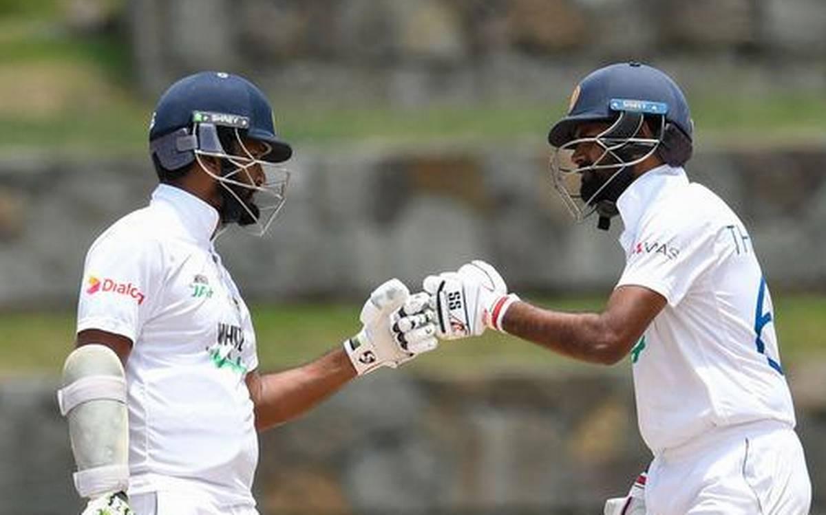 سری لنکا نے ونڈیز کے خلاف دوسرا ٹیسٹ بھی ڈرا کھیلا