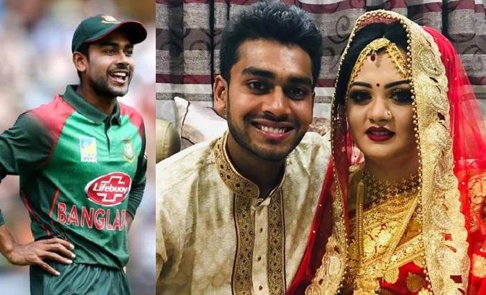 بنگلہ دیشی کرکٹر مہدی حسن نے کی شادی، نیوزی لینڈ حملے میں بچے تھے بال بال
