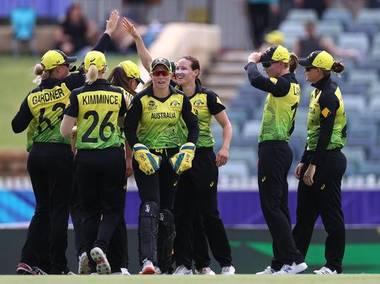 آسٹریلیا نے سری لنکا کو پانچ وکٹ سے شکست دی