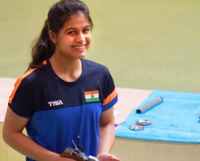 نشانے بازی،منوبھار نے ہندوستان کے لیے حاصل کیا 7واں اولمپک کوٹہ