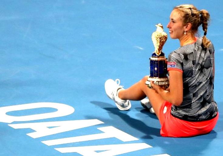 ٹینس: ایلیس مارٹنس نے جیتا قطر اوپن