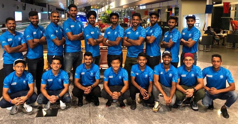 آسٹریلیا کے دورے کے لئے مرد ہاکی ٹیم روانہ