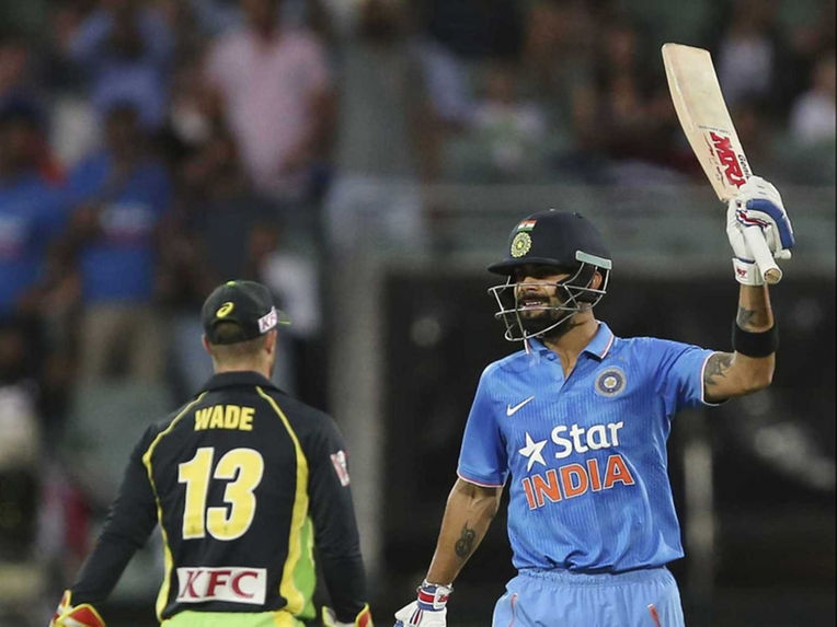 ٹیم انڈیا نے میزبان ٹیم آسٹریلیا  کو دی 188 رنز کا بھاری ہدف