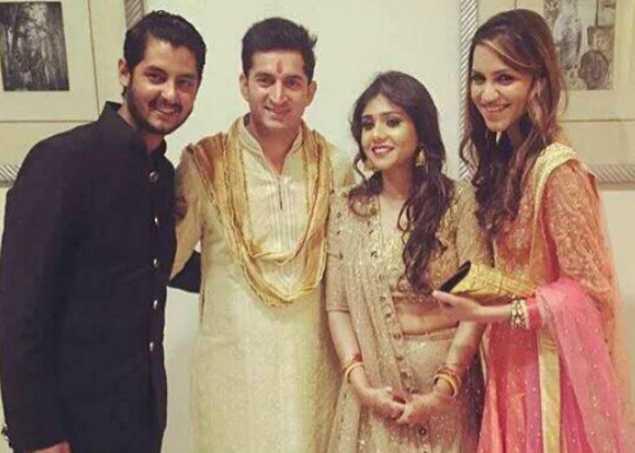 شویتا کے ہوئے کرکٹر موہت، دہلی میں ہوئی شادی