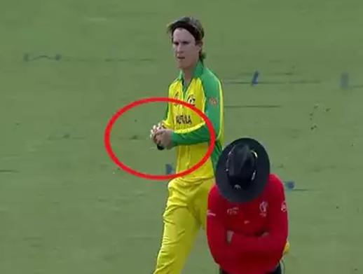 ورلڈ کپ: آسٹریلیائی کھلاڑی گیند سے چھیڑچھاڑ کرنے کا شک