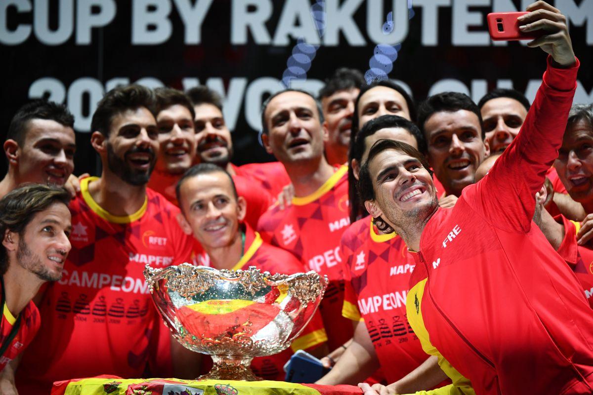 نڈال نے اسپین کو دلائی چھٹی ڈیوس کپ جیت