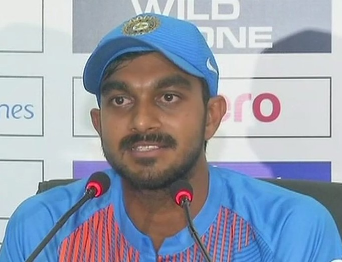 عالمی کپ کے اپنے انتخاب کے بارے میں کبھی نہیں سوچا :وجے شنکر
