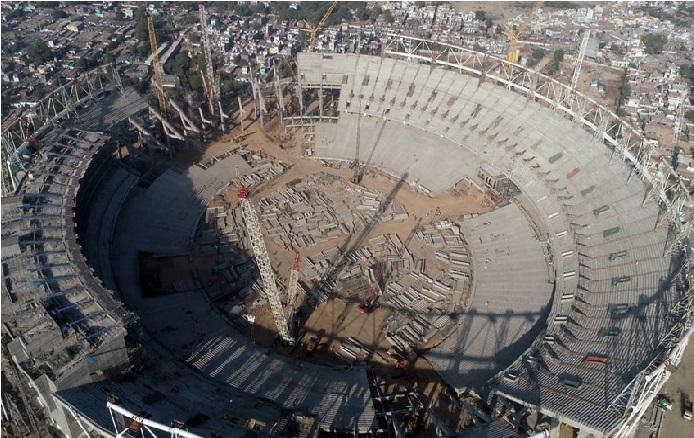 گجرات میں بن رہا ہے دنیا کا سب سے بڑا کرکٹ اسٹیڈیم، 700 کروڑ کی آئے گی لاگت
