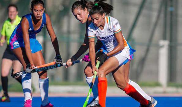 ہندوستانی خواتین ہاکی ٹیم نے ارجنٹینا جونیئر کے ساتھ ڈرا کھیلا