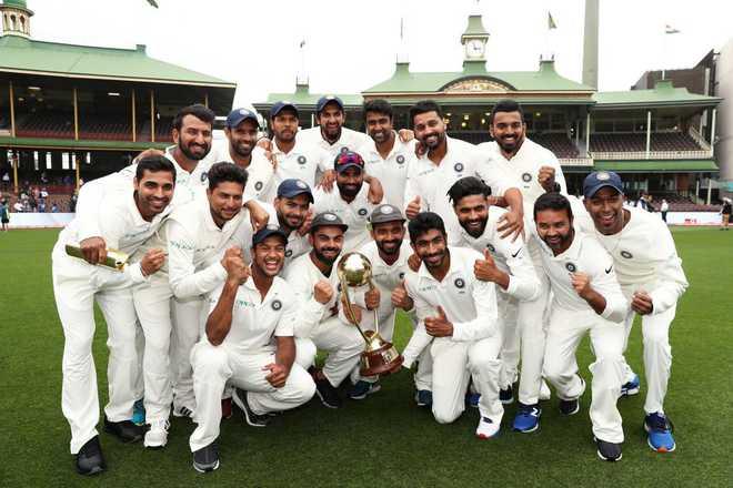 ٹیم انڈیا نے آسٹریلیا میں تاریخ رقم کی