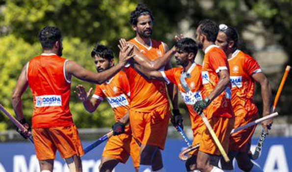 ہندستان نے اولمپک چیمپئن ارجنٹینا کو 4-3سے شکست دی