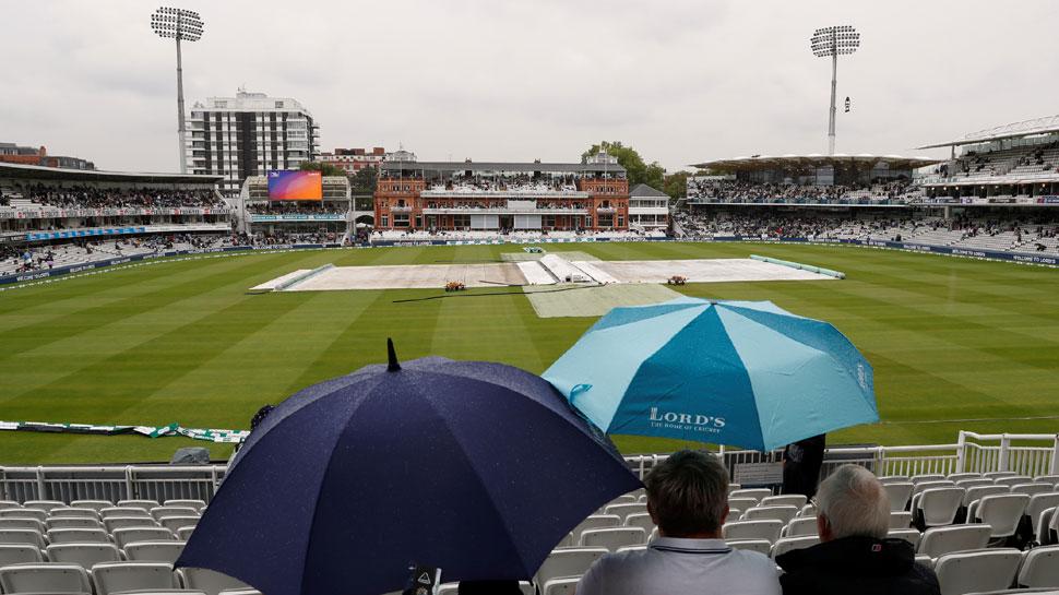 ہند-انگلینڈ دوسرا ٹیسٹ: لارڈس میں لگاتار بارش