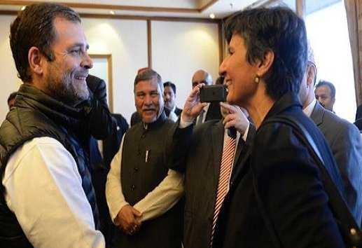 راہل گاندھی سے جی -20 ممالک کے سفارت کاروں کی ملاقات