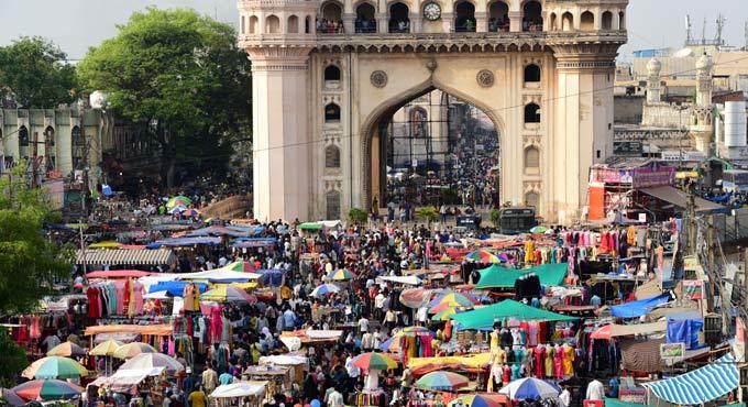 حیدرآباد میں لاک ڈاون۔ٹھیلہ بنڈیوں پر کاروبار کرنے والوں کی آمدنی متاثر