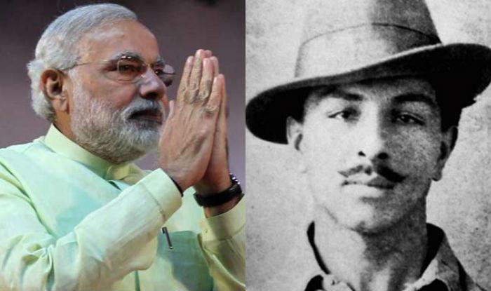 وزیراعظم مودی نے شہید بھگت سنگھ کے نظریات کو یاد کیا