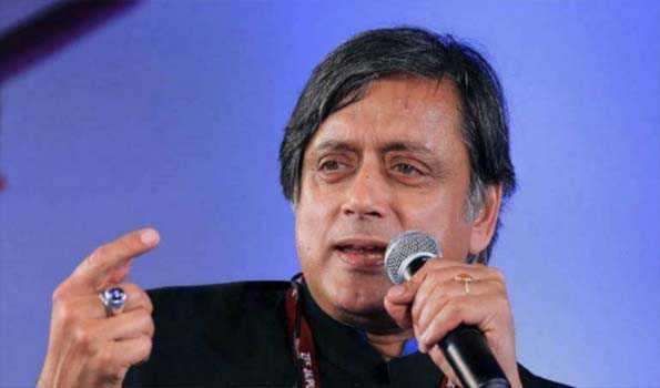 بی جے پی ترقیاتی ایجنڈے کے بغیر ملک کو ہندوراشٹربنانے کی کوشش کررہی ہے:ششی تھرور