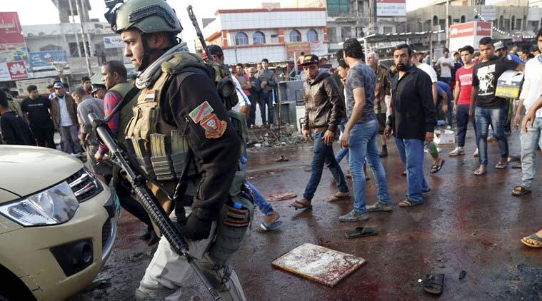جنوبی بغداد میں سیکورٹی چیک پوائنٹ پر خودکش دھماکہ 10 افراد ہلاک