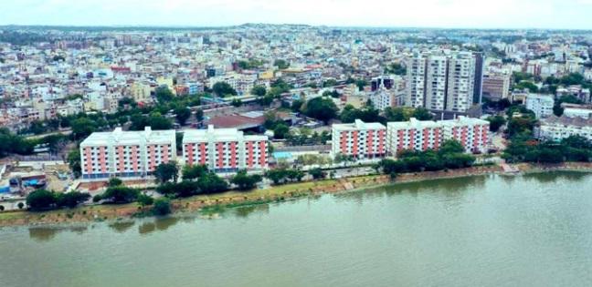 حیدرآباد میں لیک ویو 2 بی ایچ کے،  گھروں کی جلد حوالگی: کے ٹی آر