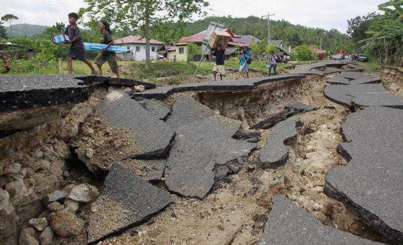 فلپائن میں 5.1 شدت کا زلزلہ