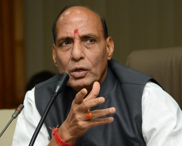 فوجی کو واپس لانے کی پوری کوشش کر رہے ہیں: راج ناتھ