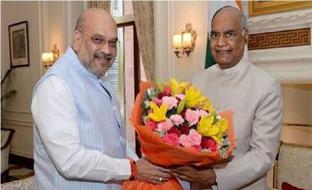 شاہ سمیت چار وزرا نے صدرسے ملاقات کی