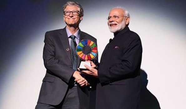یہ ایوارڈ 130 کروڑ ہندوستانیوں کا اعزاز ہے: مودی