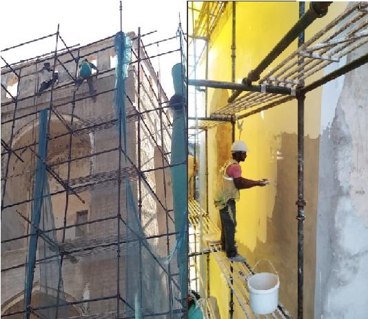 حیدرآباد کی اہم و تاریخی اہمیت کی حامل کالی کمان کی تزئین نو کے کام آخری مراحل میں