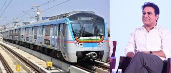 پرانا شہر حیدرآباد میں یقینی طورپر میٹرو ریل شروع کی جائے گی:وزیر تارک راما راو