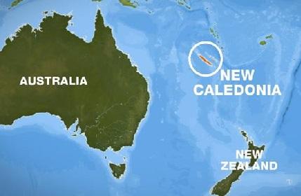 نیو کیلیڈونیہ میں 7.6 شدت کے زلزلہ کے جھٹکے