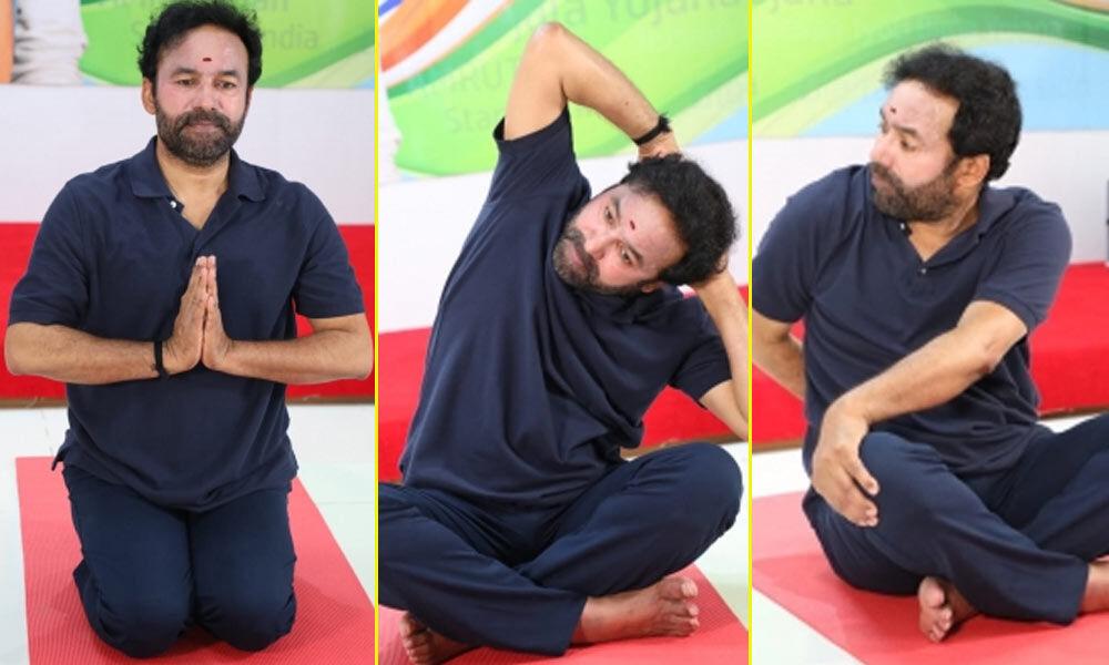 یوگا، تمام بیماریوں کا علاج ہے:کشن ریڈی