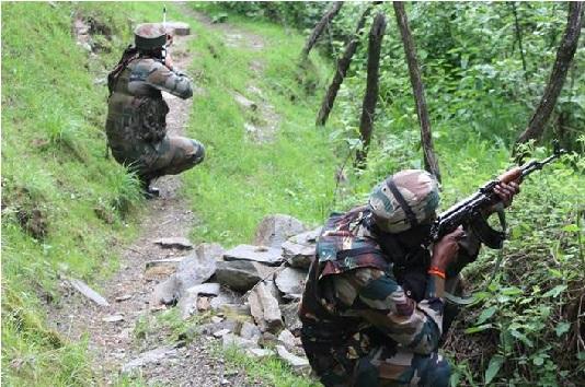 وسطی کشمیر کے بڈگام میں مسلح تصادم، 2 جنگجو ہلاک