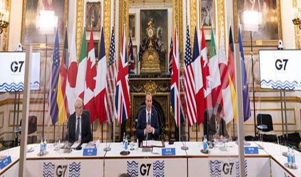 جی 7 ممالک وباسے نمٹنے کے لئے تعاون میں اضافہ کریں گے