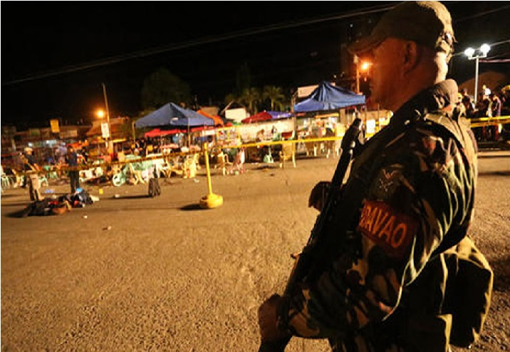 فلپائن گرجا گھر بم دھماکہ کی داعش نے لی ذمہ داری