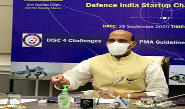 راجناتھ نے 'ڈیفنس انڈیا اسٹارٹ اپ چیلنج' لانچ کیا