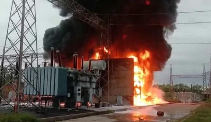 تلنگانہ: سیتاراماپٹنم بجلی کے سب اسٹیشن میں بڑے پیمانہ پر آگ