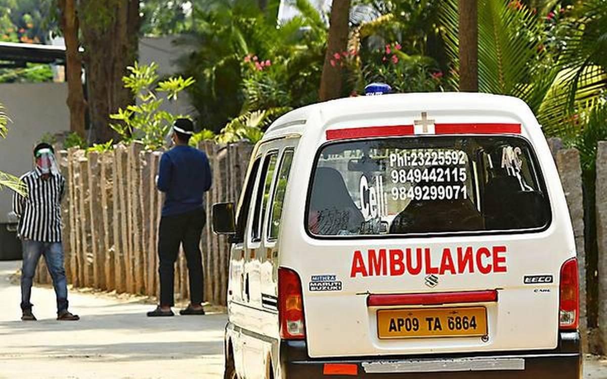 تلنگانہ میں اے پی کی ایمبولنس گاڑیوں کو اجازت