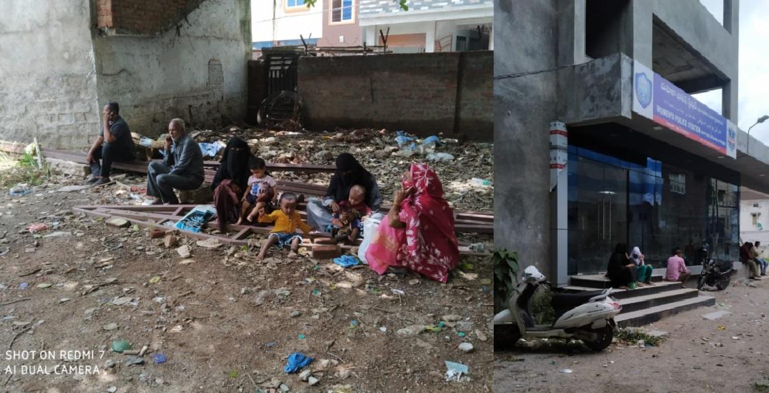 خواتین پولیس اسٹیشن میں درخواست گذاروں کی حالت زار