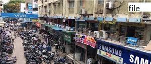 لاک ڈاون میں نرمی،حیدرآباد کی جگدیش مارکٹ میں عوام کا اژدھام