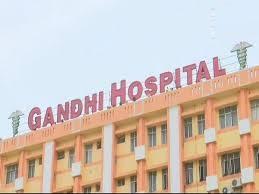 حیدرآباد کے گاندھی اسپتال کے آوٹ سورسنگ اسٹاف کا ایک مرتبہ پھر احتجاج