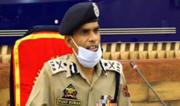 ماہ رواں کے دوران پانچ جنگجوؤں نے تصادم کے دوران سرنڈر کیا: آئی جی پی کشمیر