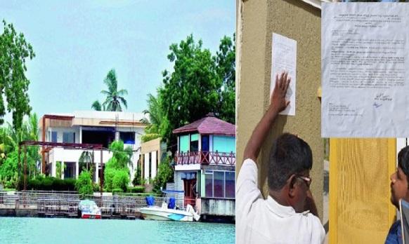 چندرابابو کی دریا کے کنارے واقع قیامگاہ کو منہدم کرنے سی آر ڈی اے کی تیاری