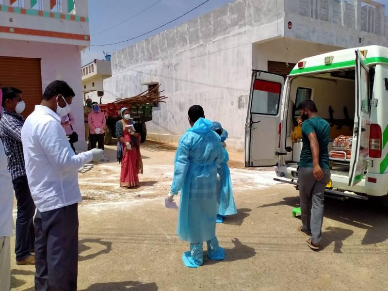 حیدرآباد کے غیر ترتیب انداز سے منتخب کنٹینمنٹ زونس میں ریاپڈ سروے کا کام شروع