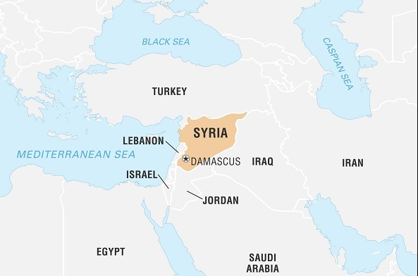 شام میں دہشت گردانہ حملہ میں آٹھ افراد ہلاک