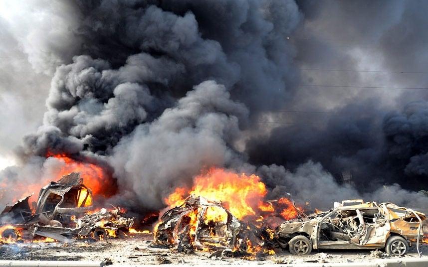 شام۔ترکی سرحد پر کار بم دھماکے میں 20 ہلاک