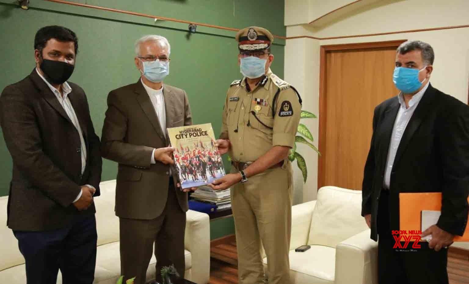 قونصل جنرل ایران کی کمشنر پولیس حیدرآباد سے ملاقات
