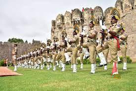 حیدرآبادمیں یوم آزادی تقاریب۔قلعہ گولکنڈہ میں پریڈ ریہرسل