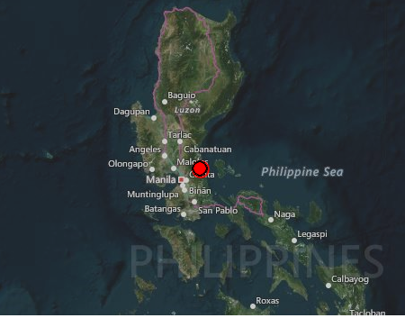 مشرقی فلپائن میں زلزلہ