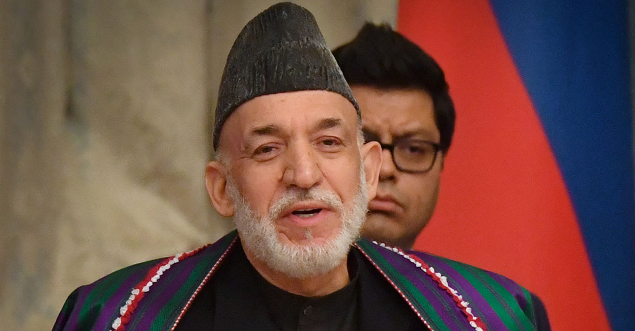 حامد کرزئی اور عبداللہ کابل میں نظر بند