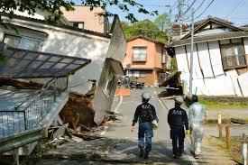 جاپان میں زلزلے کے جھٹکے